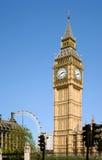 De Big Ben - Londen, Engeland Stock Foto's