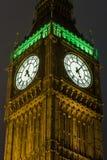 De Big Ben in Londen, Engeland Royalty-vrije Stock Afbeeldingen