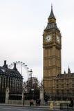 De Big Ben in Londen, Engeland Royalty-vrije Stock Afbeelding