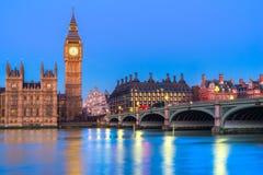 De Big Ben, Londen, het UK Stock Fotografie