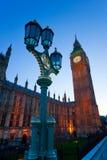 De Big Ben, Londen, het UK. Stock Afbeeldingen