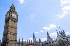 De Big Ben Londen, het UK Stock Foto