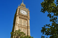 De Big Ben, Londen, het UK Stock Foto's