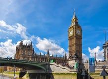 De Big Ben, Londen, het Verenigd Koninkrijk Royalty-vrije Stock Afbeelding