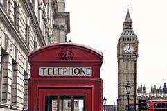 De Big Ben, Londen, het Verenigd Koninkrijk Royalty-vrije Stock Fotografie