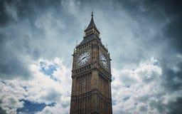 De Big Ben, Londen, het Verenigd Koninkrijk royalty-vrije stock foto's
