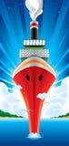 De-bigest-schip-op-de-wereld Stock Fotografie