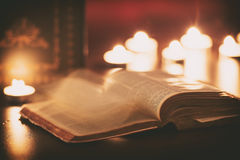 De Bijbel Royalty-vrije Stock Foto's