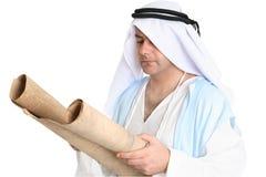 De bijbelse rol van de mensenlezing Royalty-vrije Stock Foto's