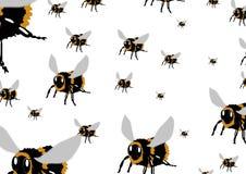 De bijen royalty-vrije illustratie
