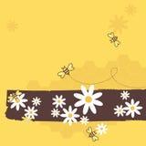 De Bijen van de honing Royalty-vrije Stock Fotografie