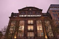 De Bijenkorf, Амстердам стоковые изображения rf