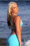 De bikini van Aqua Stock Foto's