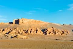de bildande laluna rock valle Arkivbild