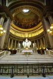 De binnen kerk van Madeleine stock foto's