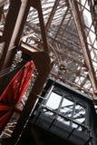 De binnen Toren van Eiffel Royalty-vrije Stock Fotografie