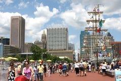 De BinnenHaven van Baltimore Stock Fotografie