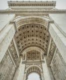 De binnenlandse details van Arc de Triomphe stock foto's