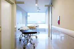 De Binnenlandse Gang van het ziekenhuis Royalty-vrije Stock Foto
