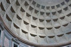 De binnenlandse koepel van het pantheon, Rome, Italië Royalty-vrije Stock Foto's