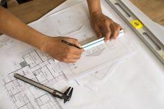 De binnenlandse ontwerperwerken Stock Afbeeldingen