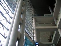 De binnenlandse structuur van de architectuur Stock Fotografie