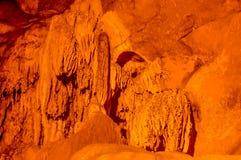 De binnenmening van Borra holt, Araku-Vallei van de Ananthagiri-heuvelwaaier van het Visakhapatnam-district in Andhra Pradesh Ind royalty-vrije stock afbeeldingen