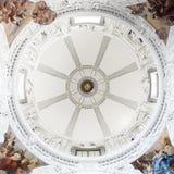 De binnenmening van de koepel van Kapel St.Casimir Royalty-vrije Stock Afbeelding