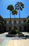 De Binnenplaats van de Bibliotheek van de Staat van Hawaï royalty-vrije stock afbeeldingen