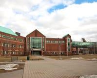 De binnenplaats van de universiteit Stock Fotografie