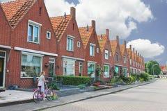 In de binnenplaats van een typisch Nederlands huis. Royalty-vrije Stock Foto