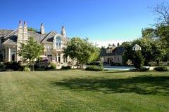 De Binnenplaats van het Huis van de luxe Royalty-vrije Stock Foto