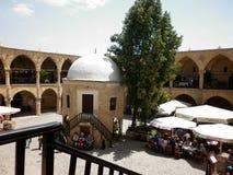 De binnenplaats van oude kreath in Cyprus Stock Fotografie