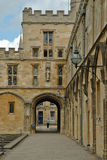 De binnenplaats van Oxfords Stock Afbeelding