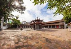 De binnenplaats van tempellang, Vietnam 2015 Royalty-vrije Stock Foto