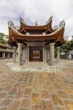 De binnenplaats van tempellang, Vietnam 2015 Stock Foto's