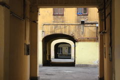 De binnenplaatsen van Petersburg Royalty-vrije Stock Fotografie
