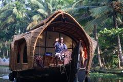 De binnenwateren van Kerala Royalty-vrije Stock Afbeelding