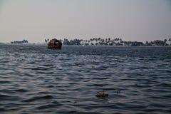 De binnenwateren van Kerala Stock Afbeelding