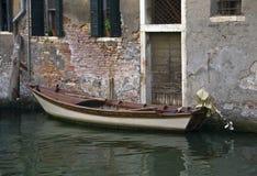 De Binnenwateren van Venetië Stock Afbeeldingen