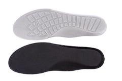 De binnenzolen van de schoen stock foto