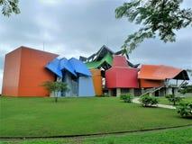 De biodiversiteitsmuseum van Panama royalty-vrije stock foto's