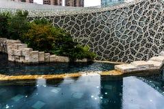 De Biologiemuseum 3 van Shanghai stock afbeeldingen