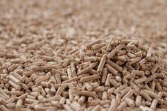 De biomassa van korrels Stock Afbeeldingen