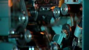 De bioskoop toont, retrospectieve binnenlandse mening, stock footage