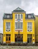 De Bioskoop van het wereldtheater in Tromso, Noorwegen Royalty-vrije Stock Fotografie
