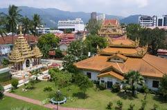 De Birmaanse tempel van Dharmikarama Stock Foto