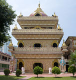 De Birmaanse tempel van Dharmikarama, Maleisië Stock Afbeelding