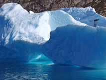 De bit van Bergy, Groenland. stock foto's