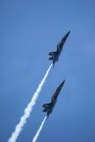 De blåa änglarna på Seafair Royaltyfri Fotografi